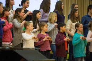 Pomladna prepevanja 2016, festival pevskih zborov, Konservatorij za glasbo in balet ljubljana, JSKD Ljubljana, 1.4.2016. Photo: Urban Zore, lenartzore.com